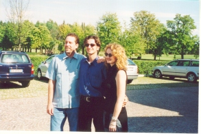 2001 - Alberto with Mike and Virginia