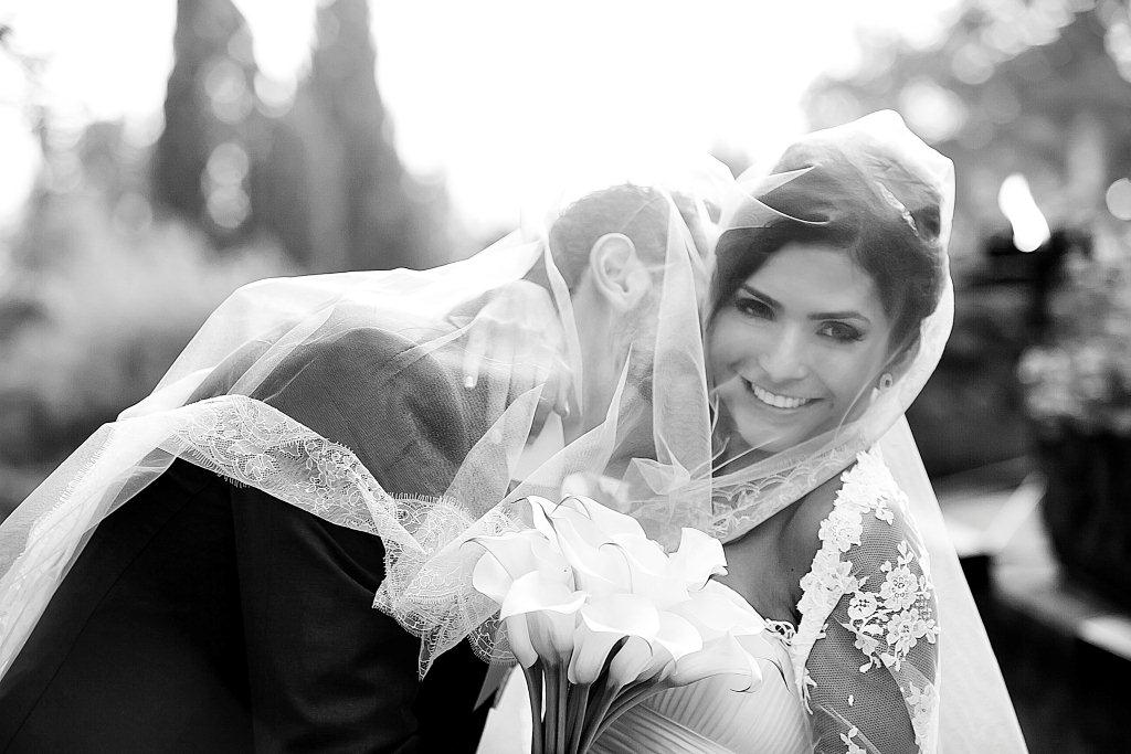 Romantic Italian castle wedding