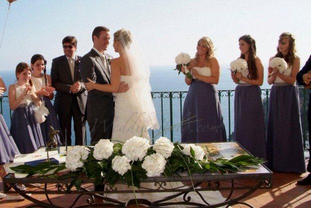positano civil wedding italy