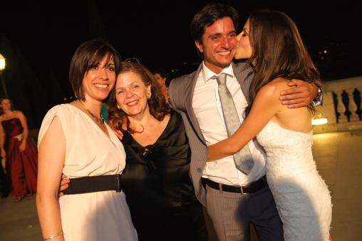 Tina and Alberto with Tammin and her mum