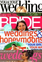 Featured on Cosmopolitan Bride, Brides, Modern Brides and many more. Read here..