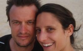 Aurelie and Laurent Granier