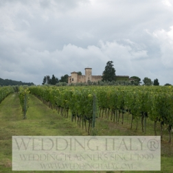 Chianti Castle wedding in Tuscany