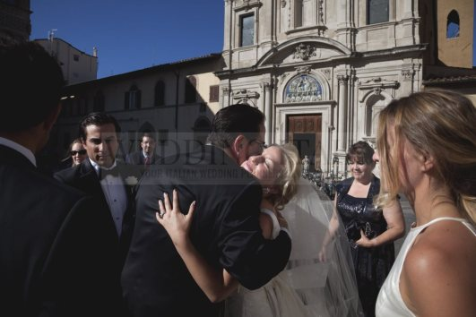 Lovely catholic wedding in Florence (40)