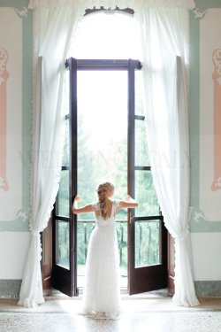 Romantic international wedding at Villa Gallici Deciani
