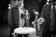 Same-sex wedding cake topper
