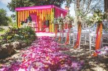 Indian wedding ceremony in Italy